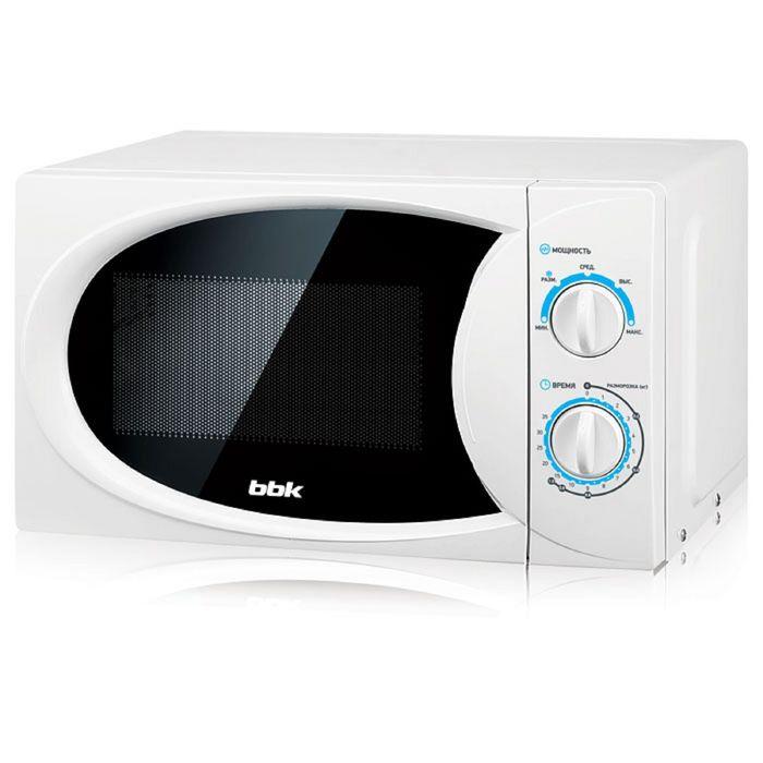 Микроволновая печь BBK 20MWS-710M/W, 20 л, 700 Вт, цвет белый