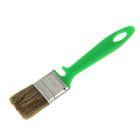 """Кисть плоская """"АКОР"""", 35х10 мм, ручка пластик, смешанная щетина, для дерева"""