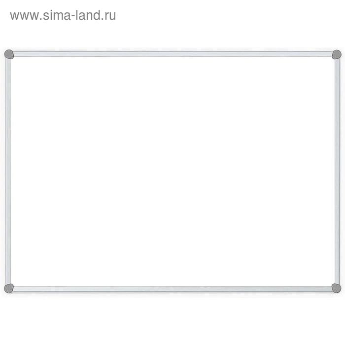 Доска магнитно-маркерная 60х90 см, лаковое покрытие, алюминиевая рама