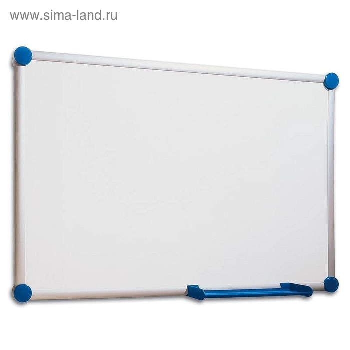 Доска магнитно-маркерная 90х120 см, лаковое покрытие, алюминиевая рама