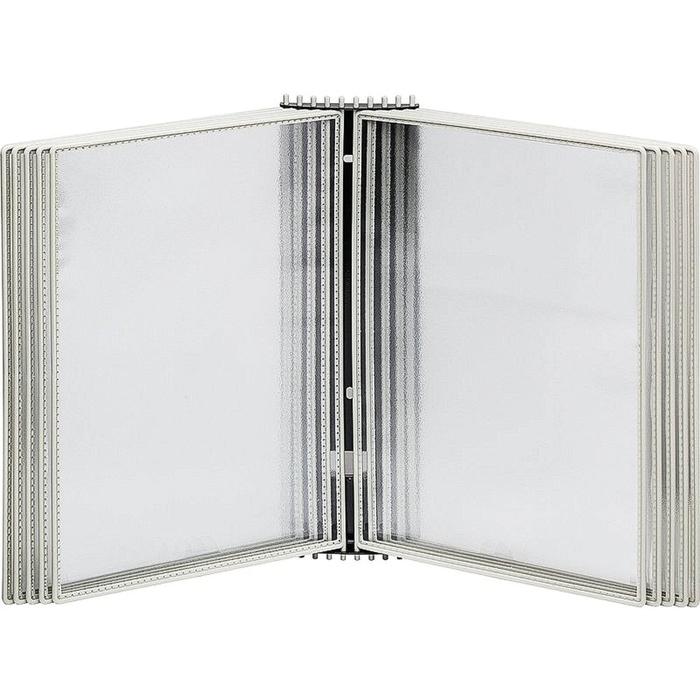 Демосистема настенная, 10 панелей, цвет серый