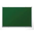 Доска магнитно-меловая настенная одноэлементная 100x150 см, лаковое покрытие, зеленая