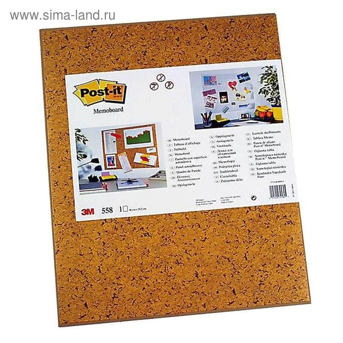 Доска клейкая, 58.5x46 см, коричневый