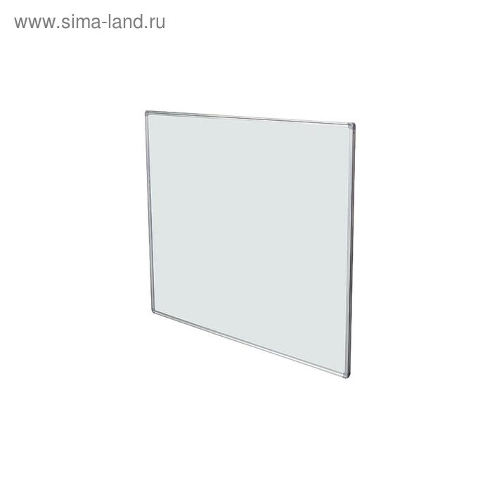 Доска магнитно-маркерная 1-элементная 100х180 см, металлический профиль