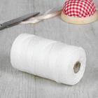 Нить для плетения кручёная, d=2мм, 70±1м, цвет белый