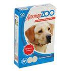 """Мультивитаминное лакомство """"Доктор  ZOO - Здоровая собака"""" для собак, 90 таб."""
