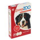 """Мультивитаминное лакомство """"Доктор  ZOO - Здоровье кожи и шерсти"""" для собак, 90 таб."""
