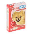 """Мультивитаминное лакомство """"Доктор  ZOO"""" со вкусом ветчины, для собак, 90 таб."""