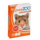 """Мультивитаминное лакомство """"Доктор ZOO"""" для грызунов, 60 таб."""