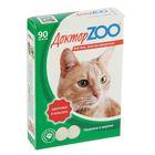 """Мультивитаминное лакомство """"Доктор ZOO - Здоровье и красота"""" для кошек, 90 таб."""