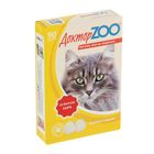 "Мультивитаминное лакомство ""Доктор  ZOO"" со вкусом сыра, для кошек, 90 таб."