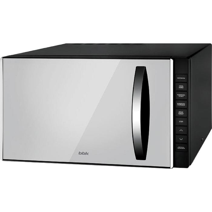 Микроволновая печь BBK 23MWG-850T/B-M, 800 Вт, 23 л, чёрная