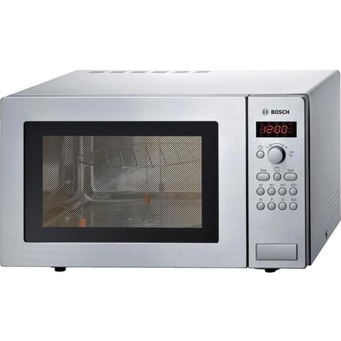 Микроволновая печь Bosch HMT84G451R, 25 л, 900 Вт, серебристый