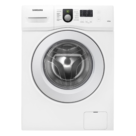 Стиральная машина Samsung WF60F1R0H0W, класс А, 1000 об/мин, 6 кг, белая