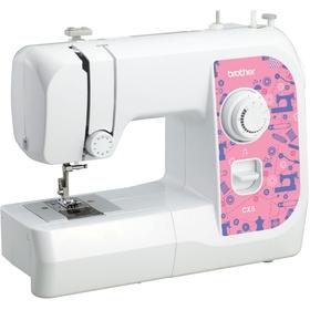 Швейная машина Brother CX 5, ручная обработка петли Ош