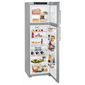 Холодильник Liebherr CTNesf 3663-21001, 306 л, класс А++, No Frost, серебристый