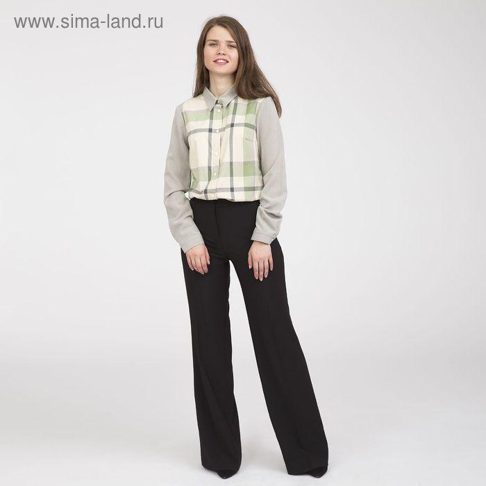 Блуза женская, размер 54, рост 170 см, цвет серый (арт. Y1214-0171 С+)
