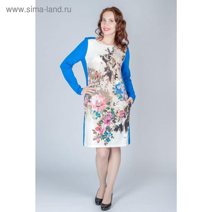 Платье женское, размер 46, рост 170 см, цвет синий (арт. Y0235-0227)