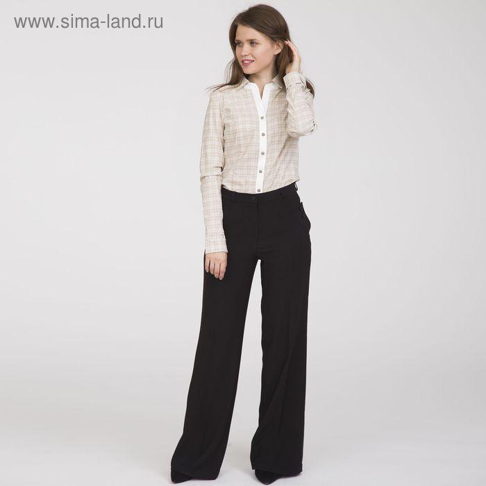 Блуза женская, размер 52, рост 170 см, цвет бежевый (арт. Y1132-0067 С+)