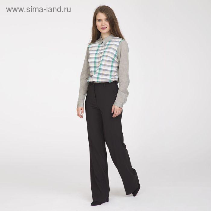 Блуза женская, размер 54, рост 170 см, цвет серо-зелёный (арт. Y1112-0171 С+)