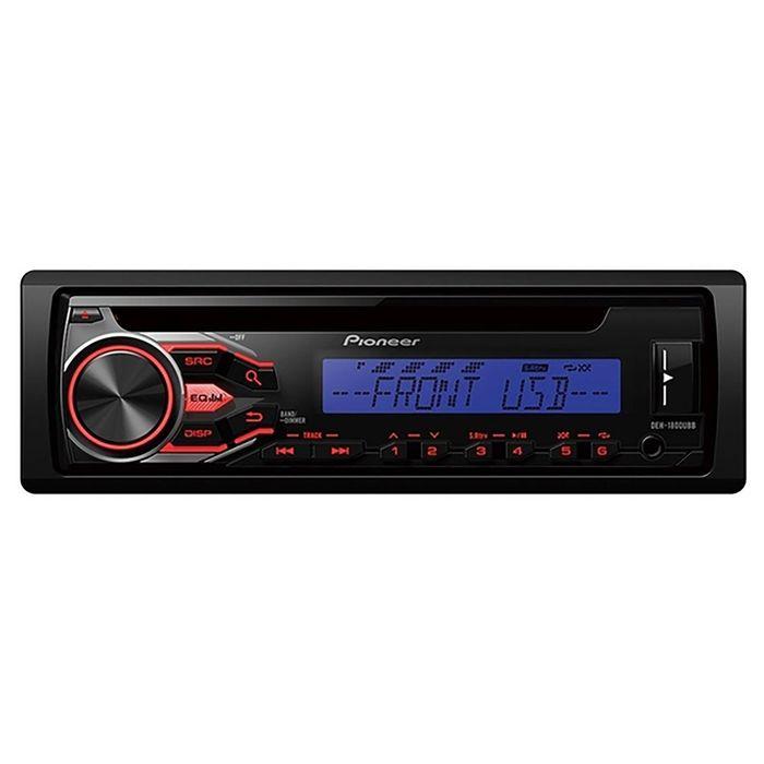 Автомагнитола CD Pioneer DEH-1800UBB 1DIN 4x50Вт