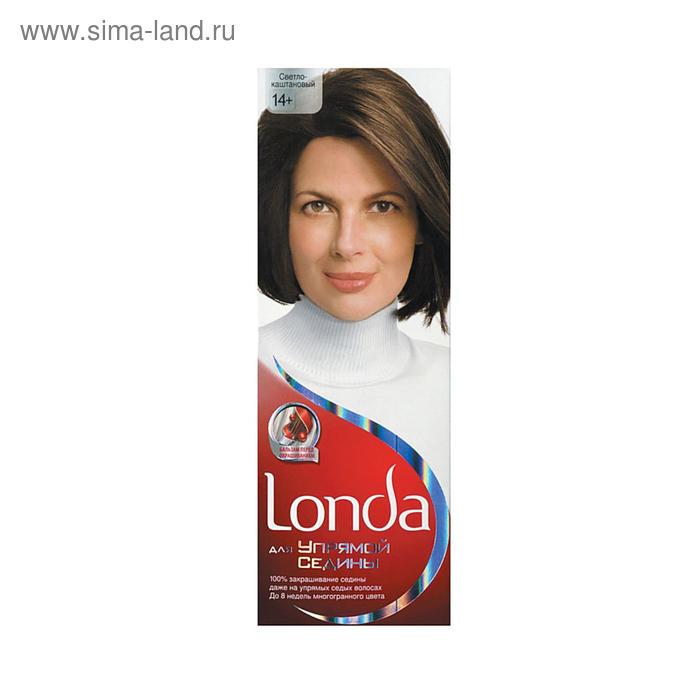 """Крем-краска для волос Londa """"Для упрямой седины"""", светло-каштановый, 60 мл"""