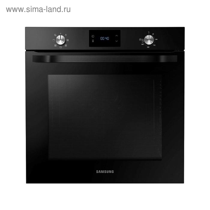 Духовой шкаф Samsung NV 75 J 3140 BB, электрический, 75 л, 5 режимов, функция гриля, чёрный   147379