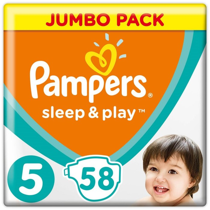 abb6f92c2162 Подгузники Pampers Sleep   Play Junior 11–18 кг, 58 шт (1543936 ...