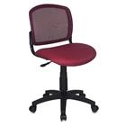 Кресло CH-1296/DC/15-11 спинка сетка бордовый сиденье бордовый
