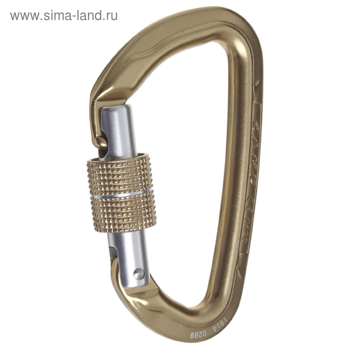 Карабин Camp ORBIT LOCK bronze