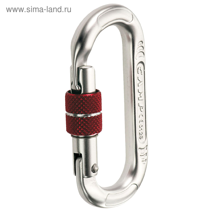 Карабин Camp OVAL COMPACT  - LOCK polished
