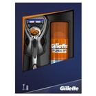 Подарочный набор Gillette Fusion ProGlide: Бритвенный станок + Гель для бритья