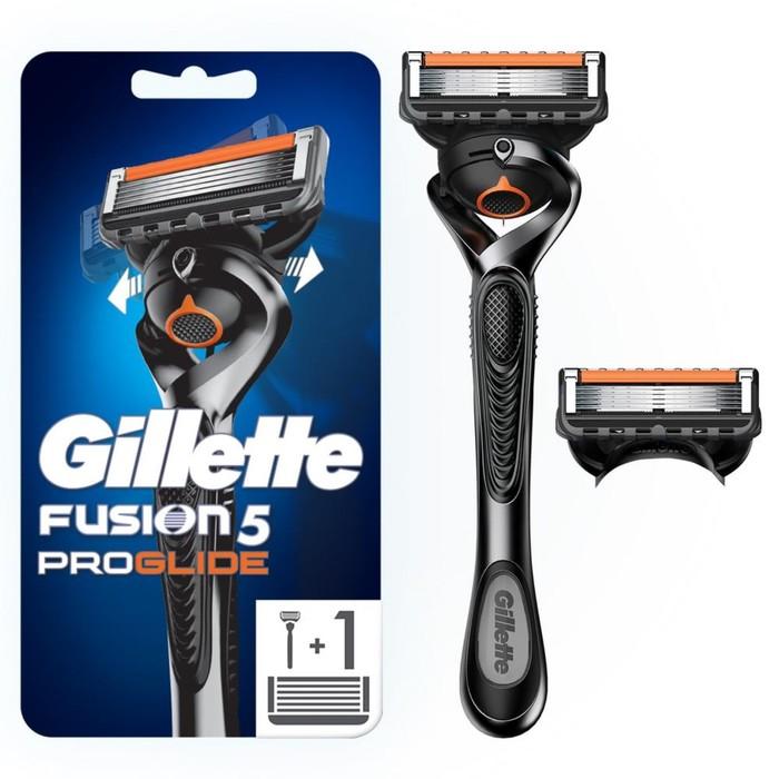 Бритвенный станок Gillette Fusion ProGlide Power Flexball, с двумя сменными кассетами