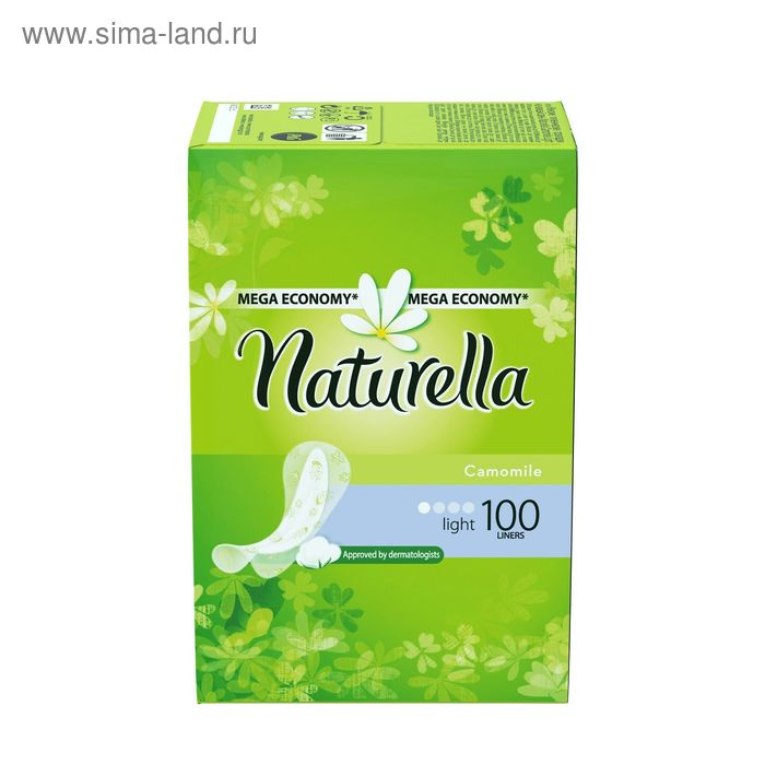 Прокладки ежедневные Naturella Camomile Light, 100 шт