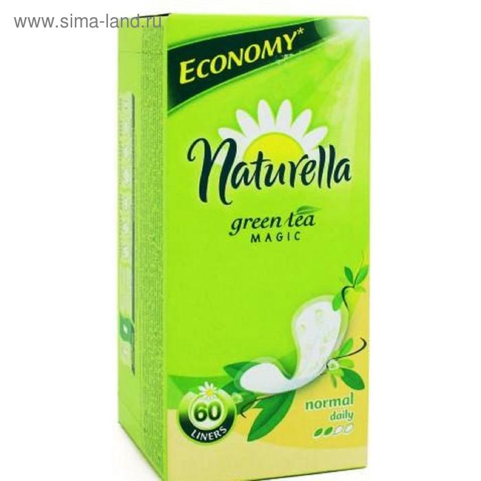 Прокладки ежедневные Naturella Green Tea Magic Normal, 60 шт