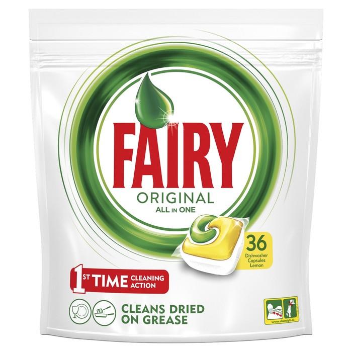 Капсулы для посудомоечных машин Fairy All in 1, 36 шт