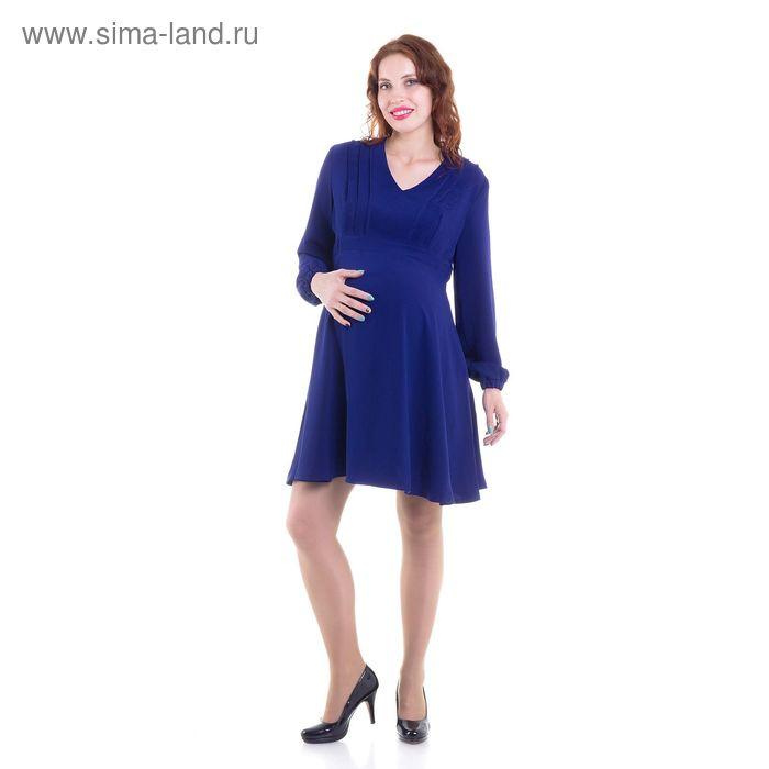 Платье для беременных, размер 48, рост 168 см, цвет синий (арт. 51373503)