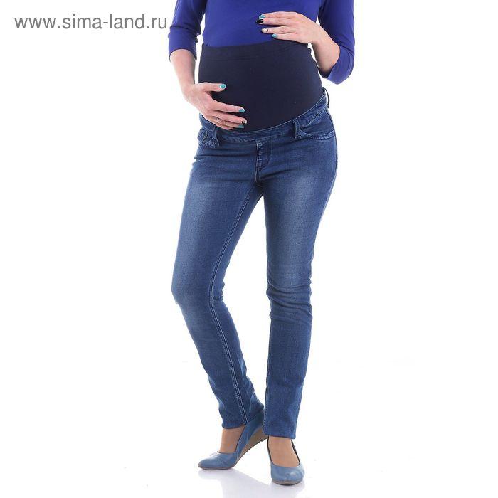 Джинсы для беременных, размер 46, рост 168 см, цвет синий (арт. 12444204)