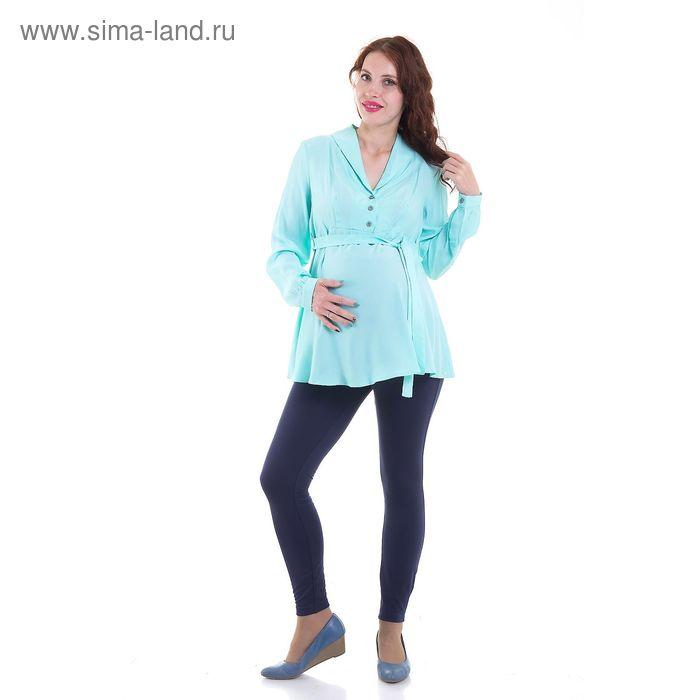 Блузка для беременных, размер 42, рост 168 см, цвет зелёный (арт. 31765444)