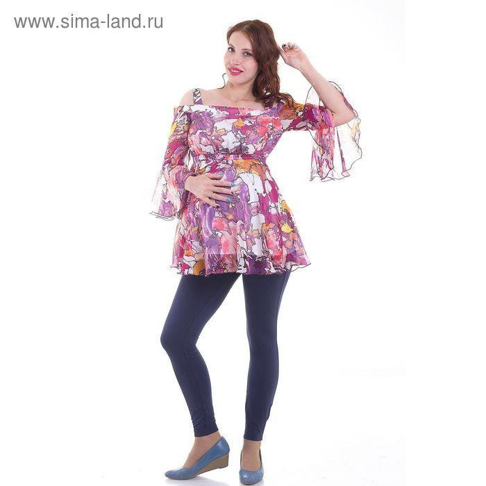 Блузка для беременных, размер 42, рост 168 см, цвет розовый (арт. 31918327)