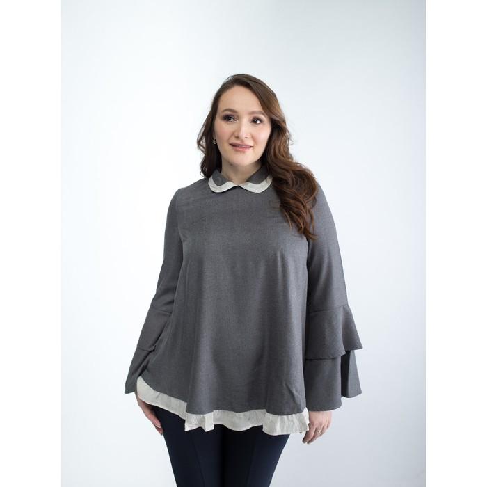 Блузка для беременных, размер 44, рост 168 см, цвет серый (арт. 32375431)