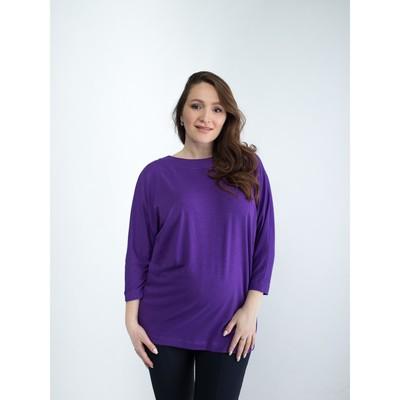 Топ для беременных, размер 52, рост 168 см, цвет фиолетовый (арт. 371511615)