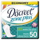 """Ежедневные прокладки Discreet Plus Deo """"Водяная лилия"""", 50 шт"""