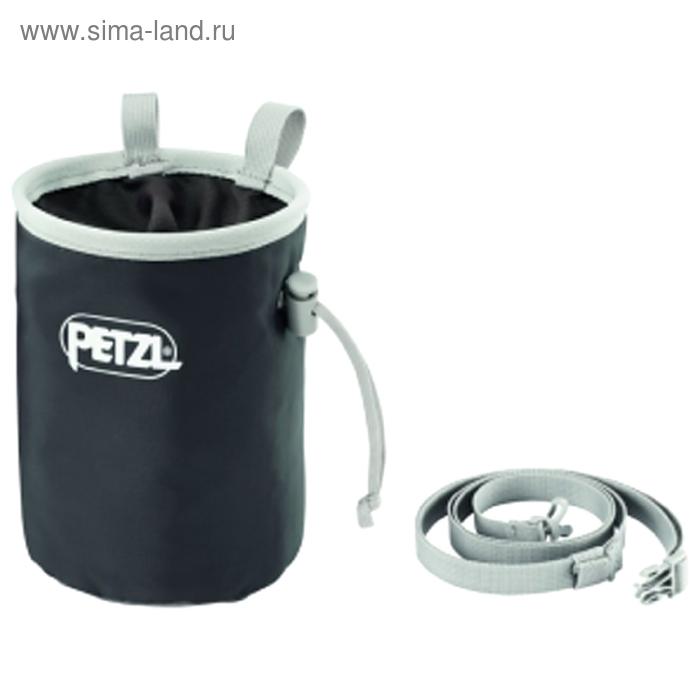 Мешочек для магнезии Petzl BANDI, цвет серый