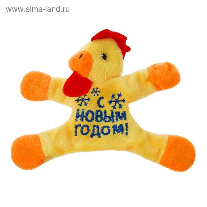 """Мягкая игрушка-магнит """"С Новым Годом""""снежинки, петушок"""