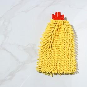 Насадка для швабры, микрофибра букля 150 гр, цвет МИКС