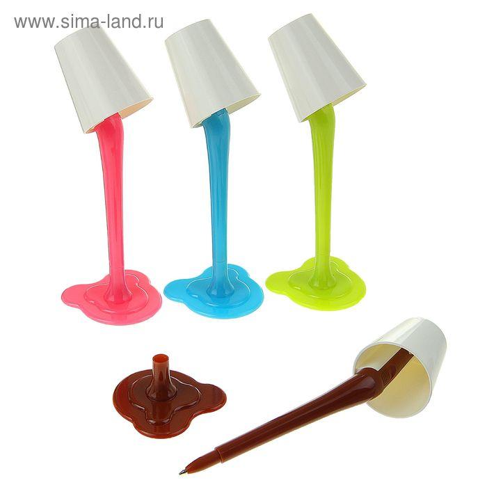 Ручка шариковая-прикол Светильник МИКС с фонариком