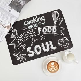 Салфетка кухонная «Кулинария», 42×27 см