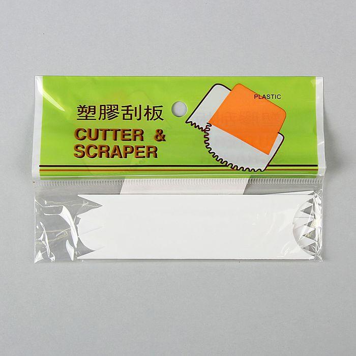 Набор шпателей кондитерских 12x3,5х0,1 см, 3 шт