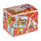 "Коробка подарочная ""Новогодняя посылка ""Микки Маус и друзья, 20 х 15 х14 см"
